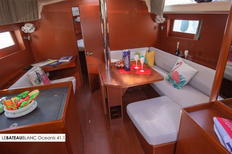 Enjoy La Maddalena, IT to the fullest on our comfortable Beneteau Oceanis 41.1