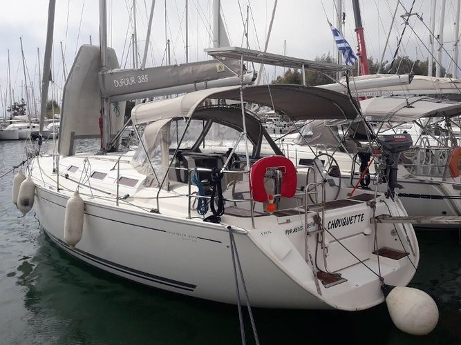 Sail Athens, GR waters on a beautiful Dufour Yachts Dufour 385