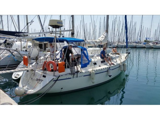 Enjoy Athens, GR to the fullest on our comfortable Dufour Yachts Gib Sea 44.2