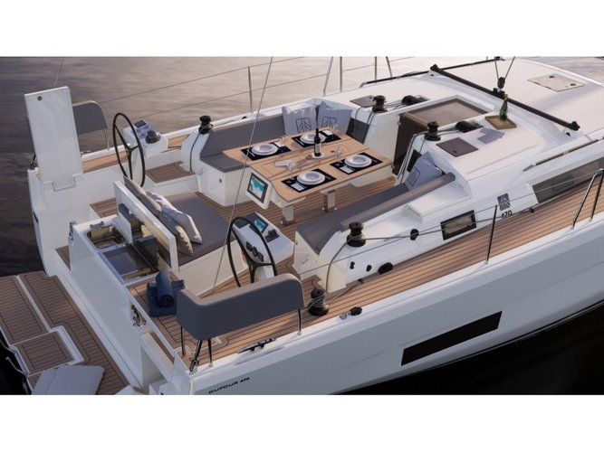 Unique experience on this beautiful Dufour Yachts Dufour 470