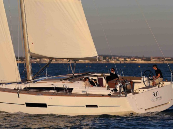 Take this Dufour Yachts Dufour 500  for a spin!