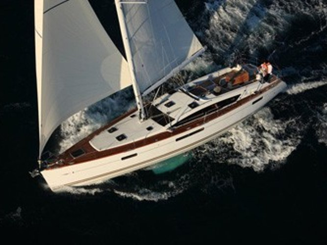 Take this Jeanneau Jeanneau 53 for a spin!