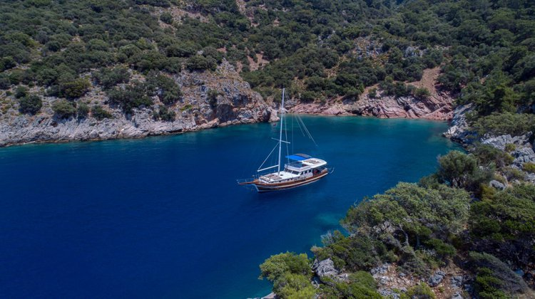 Boating is fun with a Gulet in Fethiye