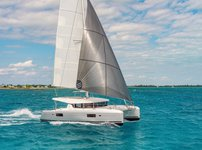Glide through the water in Bahamas aboard this amazing  Lagoon 42
