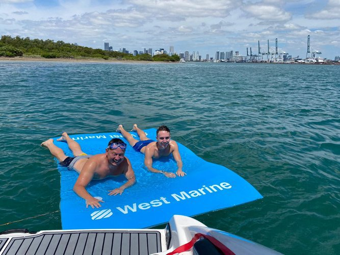 Boating is fun with a Bow rider in Miami Beach