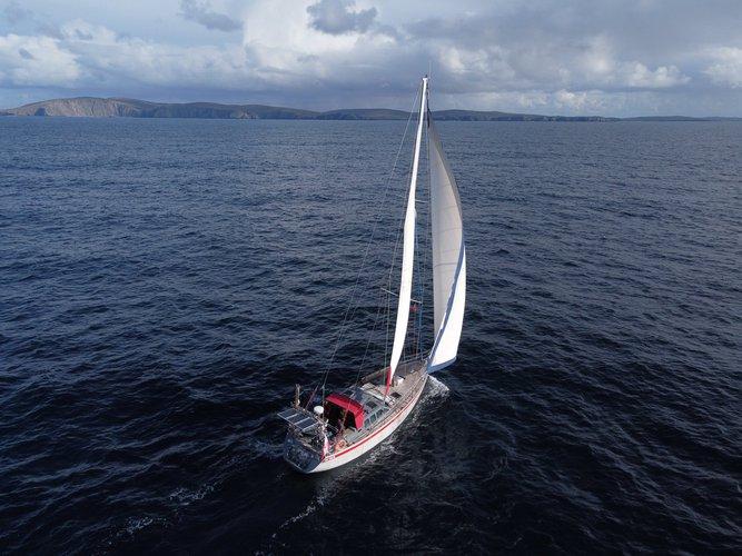 Trzebież, PL sailing at its best