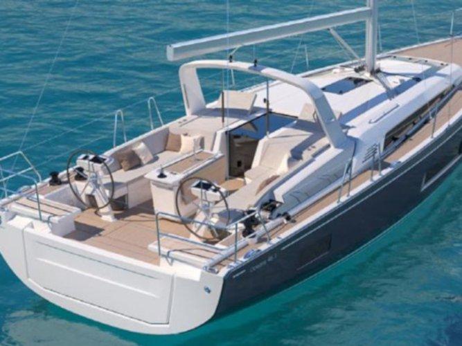 Rent this Beneteau Oceanis 46.1 for a true nautical adventure