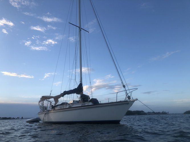 Classic Sail boat with enough space, many upgrades and very comfortable
