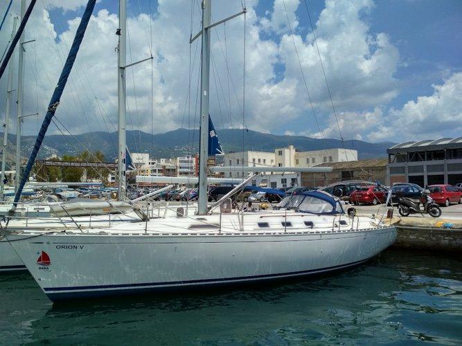 Charter this amazing sailboat in Skiathos
