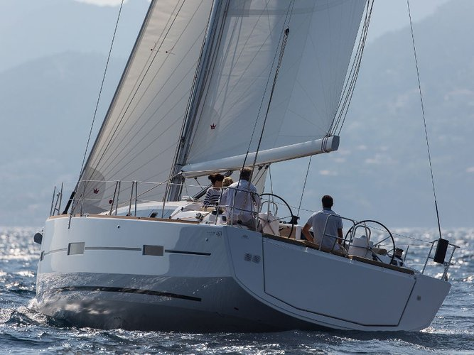 Enjoy luxury and comfort on this Dufour Yachts Dufour 460 Grand Large in Göcek