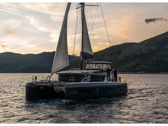 Enjoy Athens, GR to the fullest on our comfortable Lagoon Lagoon 42