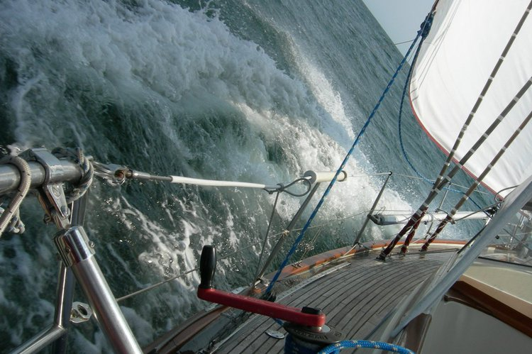 Fantastic sailing experience! Relax or take part in handling the boat!