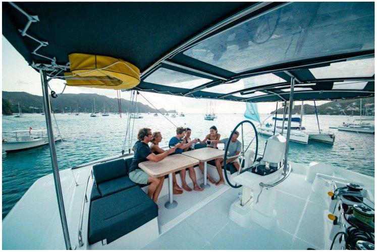 Boat for rent Lagoon 52.0 feet in Compass Point marina, U.S. Virgin Islands