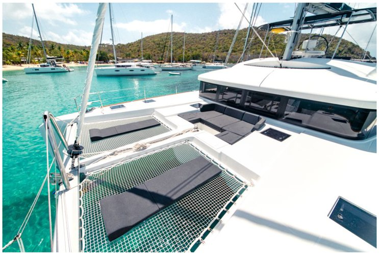 Boating is fun with a Lagoon in Charlotte Amalie