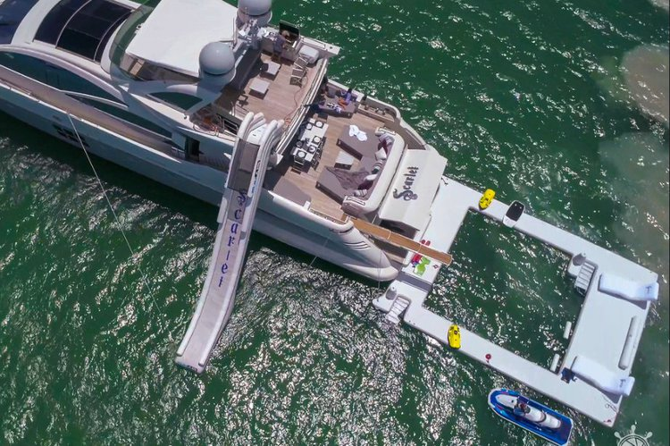 Rent a Luxury Yachting Experience! 103' Azimut