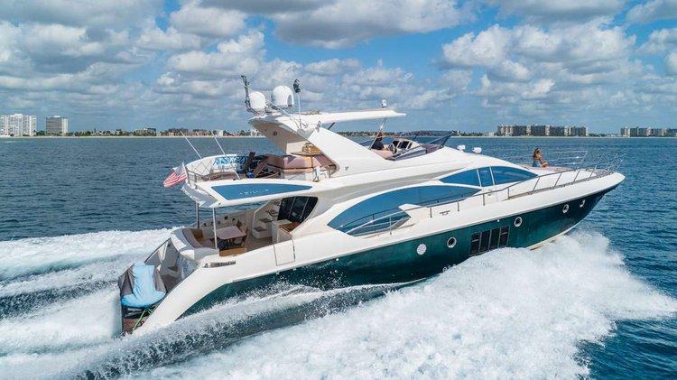 Motor yacht boat rental in Key West Harbour, FL