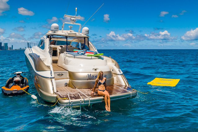 Boating is fun with a Sunseeker in North Bay Village