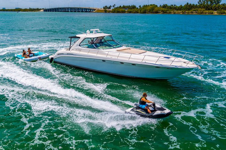 Rent a Luxury Yachting Experience! 58' SeaRay