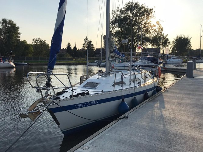 Enjoy luxury and comfort on this Stockholm sailboat charter