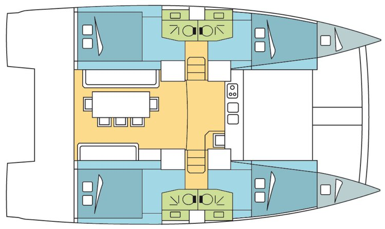 Explore US Virgin Islands aboard this lovely catamaran