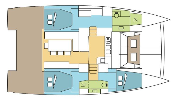 Rent this wonderful catamaran to explore the US Virgin Islands