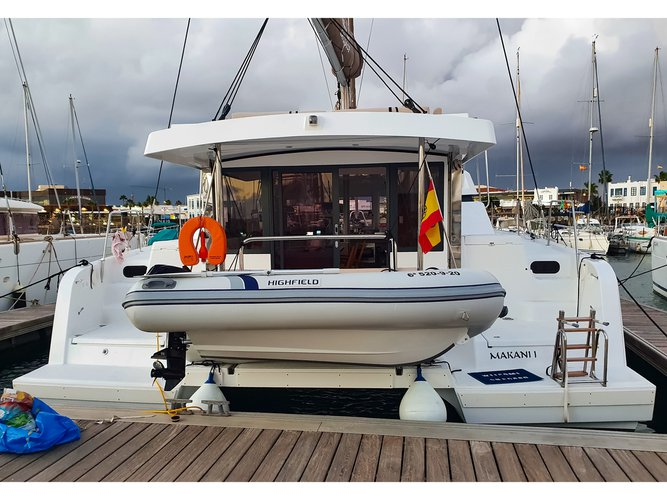 Charter this amazing sailboat in Lanzarote