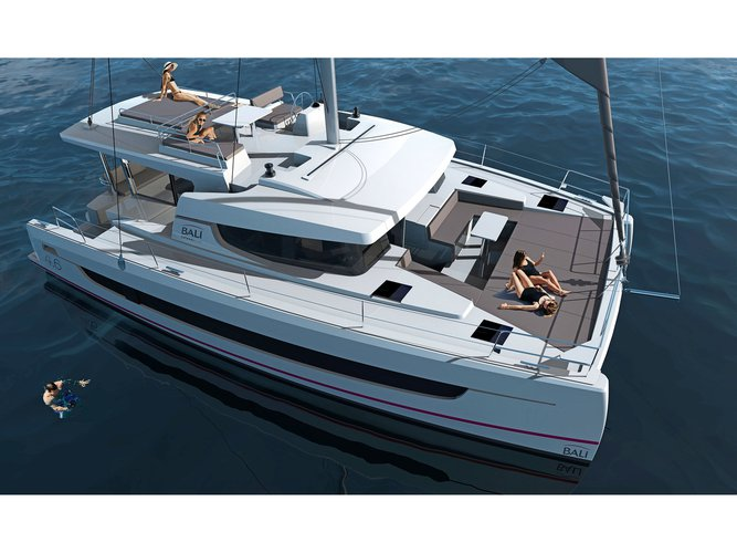 Experience Olbia on board this elegant sailboat