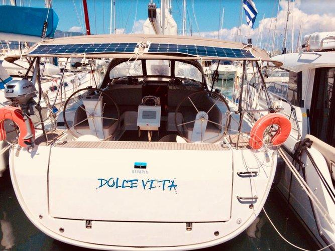 Experience Corfu, GR on board this amazing Bavaria Yachtbau Bavaria Cruiser 46