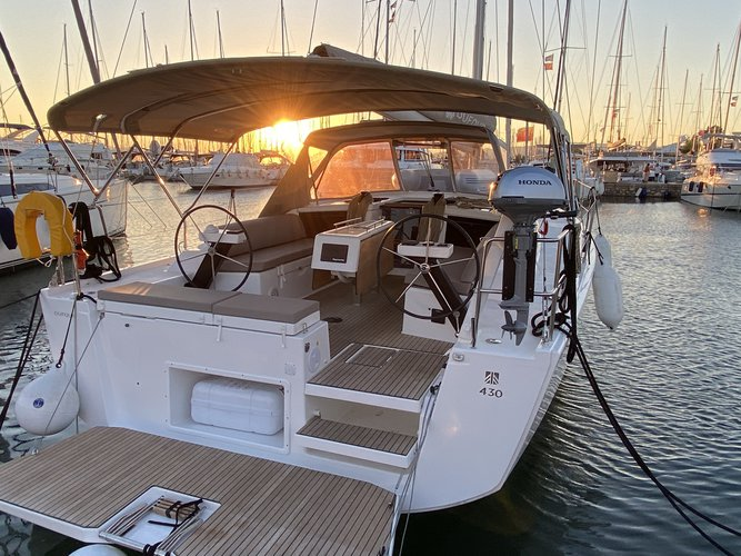 Boat for rent DUFOUR 43.0 feet in Yacht Marina Volos, Greece