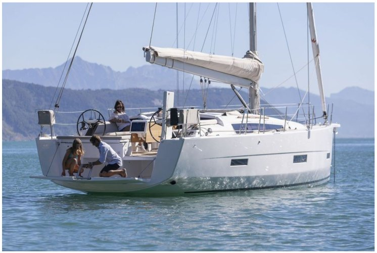 Boat for rent Dufour 43.0 feet in Compass Point marina, U.S. Virgin Islands