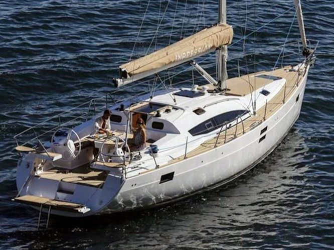 All you need to do is relax and have fun aboard the Elan Elan 45 Impression