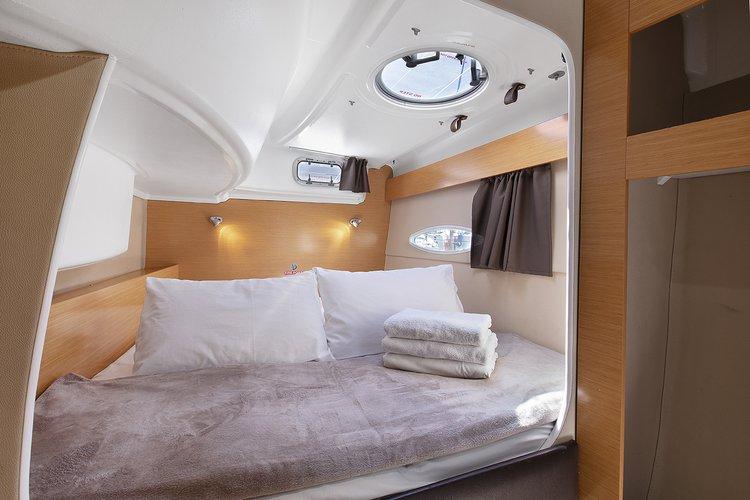 Catamaran boat for rent in Antalya