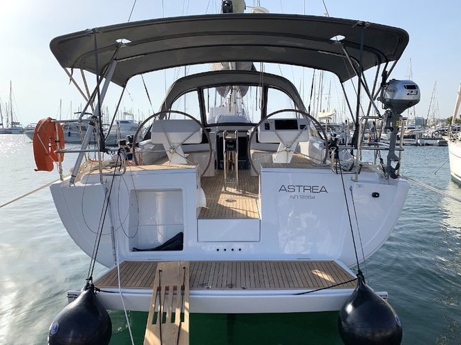 Unique experience on this beautiful Hanse Yachts Hanse 458