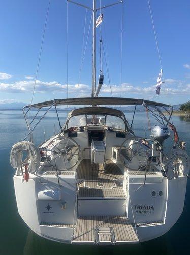 Experience Keramoti on board this elegant sailboat