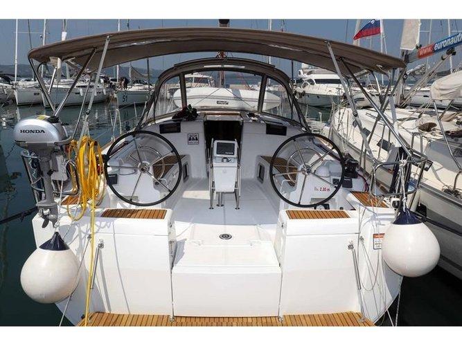 Hop aboard this amazing sailboat rental in Biograd!