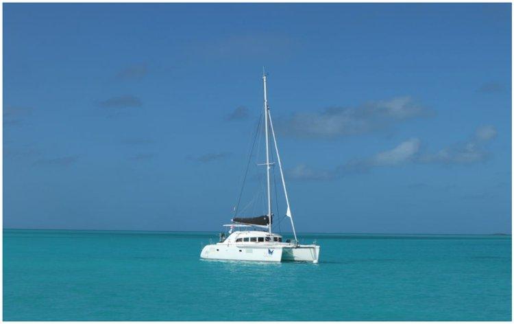 Have fun in the sun on this Bahamas catamaran