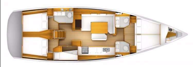 Rent this sailboat and explore US Virgin Islands