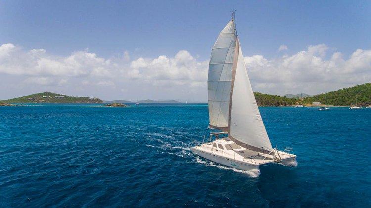 Enjoy the Virgin Islands on this beautiful Sailboat