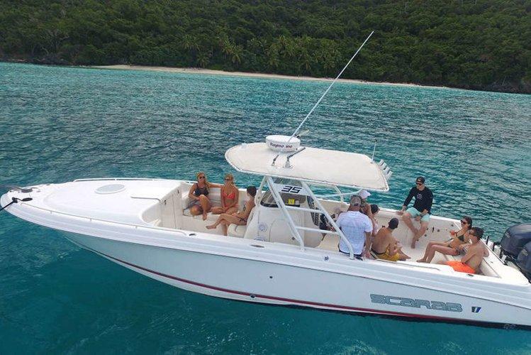 Rent this amazing Boat in Virgin Islands
