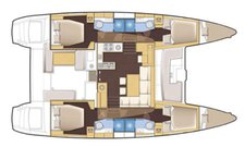 Rent this catamaran and explore US Virgin island