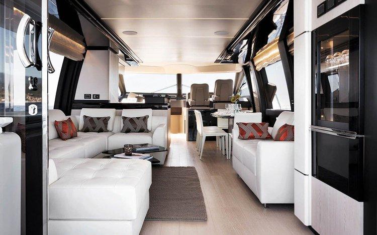 Azimut boat for rent in Miami Beach