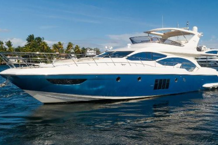 Boating is fun with a Azimut in North Miami Beach