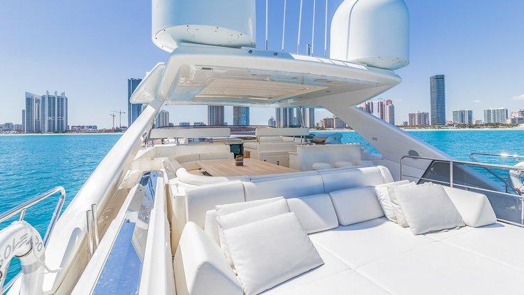 Ferretti's 97.0 feet in Miami