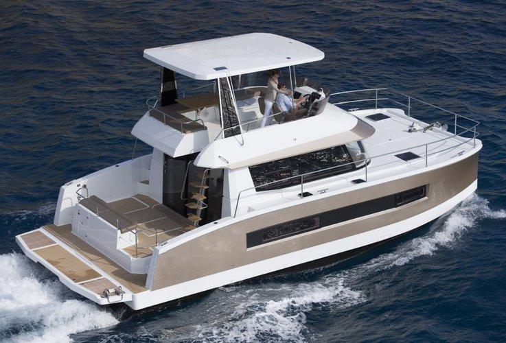 Enjoy luxury and comfort on this Dubrovnik region motor boat charter