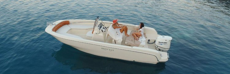 Explore Split region on this beautiful motor boat for rent