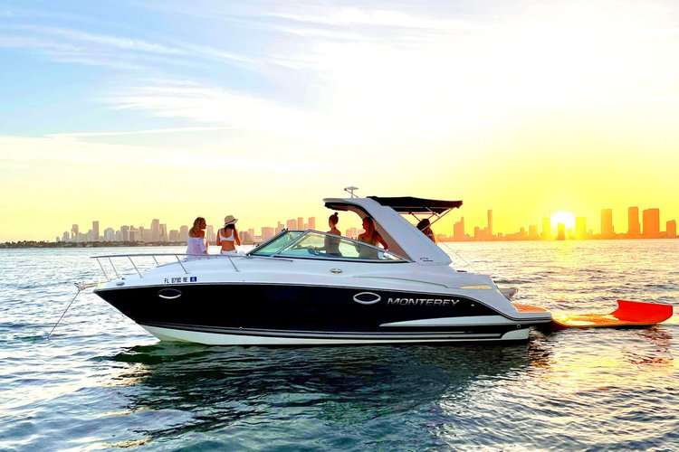 NEW! Perfect Fun Sport Yacht up to 8 people! •  Captain paid separately