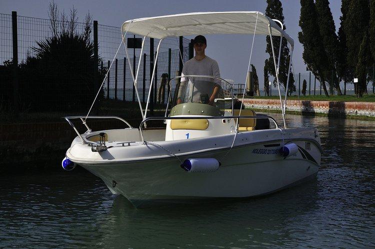 Boat rental in Jesolo,