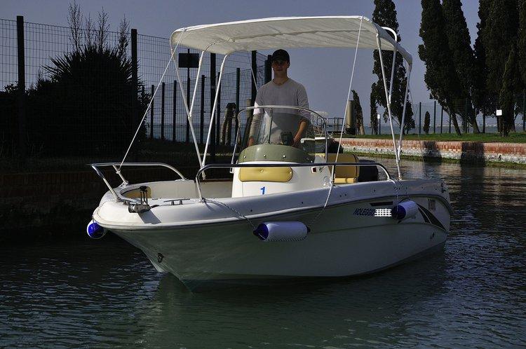 Boat for rent SAVER 18.0 feet in Porto Turistico Di Jesolo, Italy