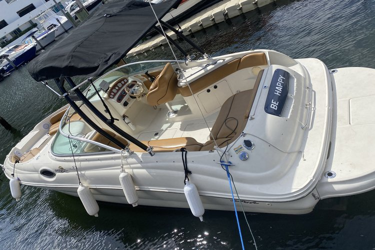 Boating is fun with a Sea Ray in Aventura