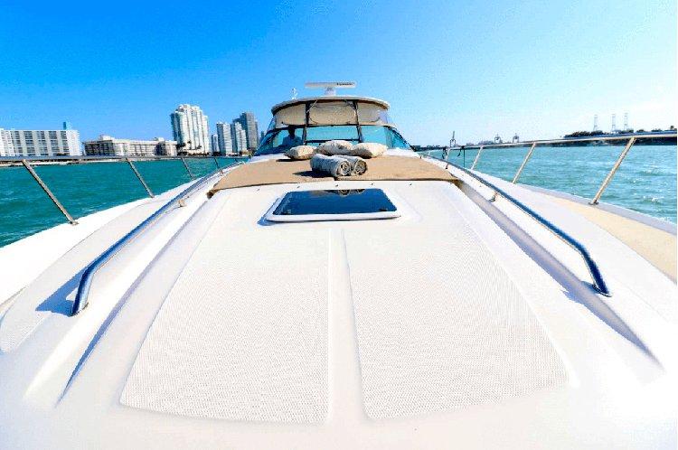 Motor yacht boat rental in South Beach, FL